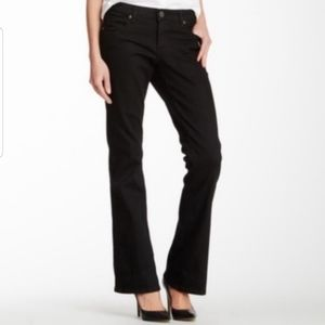 Kut From the Kloth Farrah Baby Bootcut Black Jean